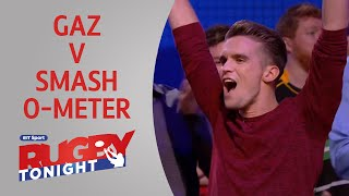 Geordie Shore's Gaz takes on the Smash-O-Meter | Rugby Tonight