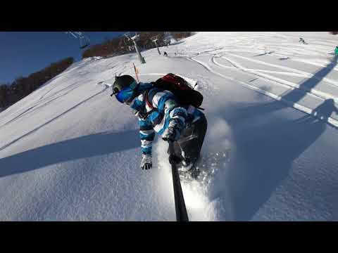 Snowboarding Furano 2018