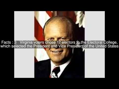 United States presidential election in Virginia, 1976 Top  #5 Facts