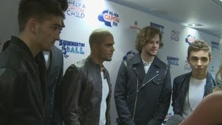 The Wanted At Capital Summertime Ball: The Wanted Reunite And Chat About New Rea