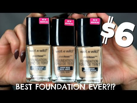 WET N WILD PHOTOFOCUS FOUNDATION REVIEW | Shelby Sherwood