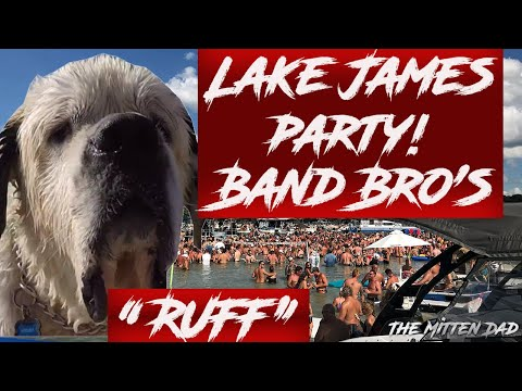 Lake James Sandbar Party | Labor Day weekend 2018, The Band Brothers