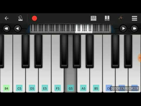 Ente hridayathinte vadakku kizhakke attath bgm piano