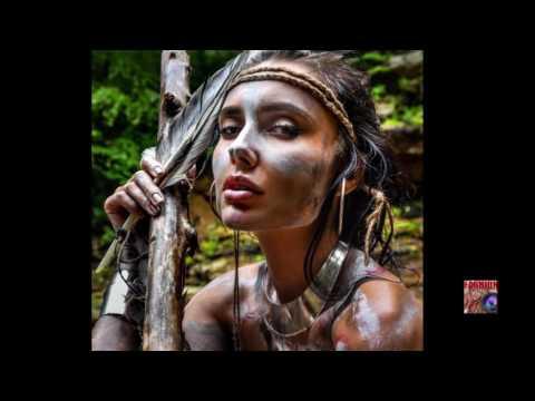 The Warrior Spirit - Femininity through the Strength : Tribal Bodypaint ART Shoot under Waterfalls