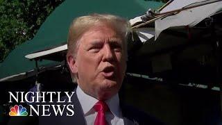 President Donald Trump Talks Kim Jong Un, Immigration In Freewheeling Interviews | NBC Nightly News