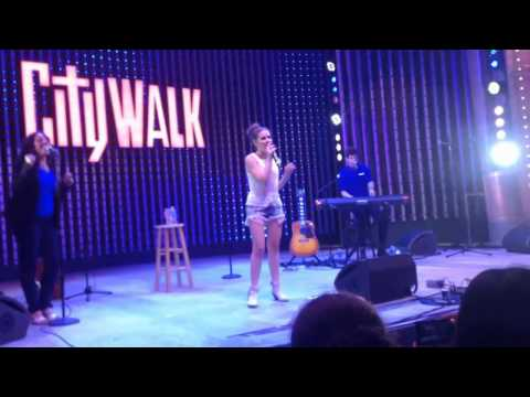 Carly Rose Sonenclar at City Walk - FULL CONCERT - Exclusive