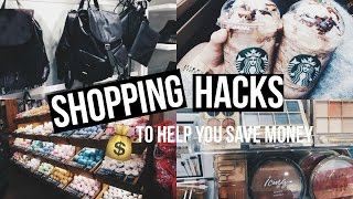 Shopping Hacks (7 tips and tricks) || Lauren McDowell