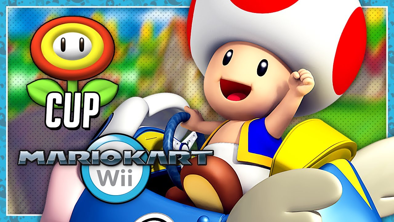 Mario Kart Wii Grand Prix 150cc Flower Cup 2 Player