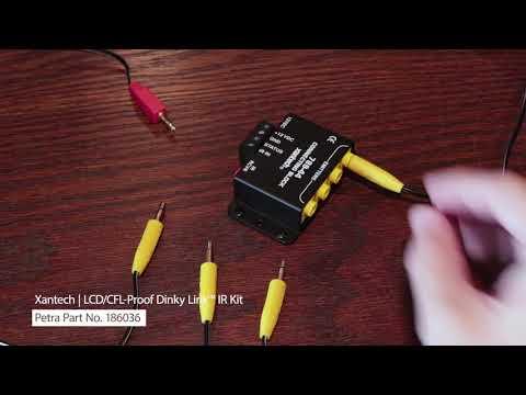 Spotlight On Xantech's LCD/CFL-Proof Dinky Link™ IR Kit