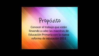 Gambar cover ENTREVISTA A MAESTRA DE EDUCACION PRIMARIA.wmv