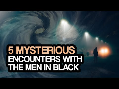 Real Encounters with the Men in Black