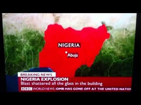 Bomb attack in UN building Abuja Nigeria