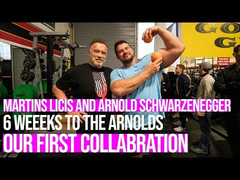 The Ultimate Moment With Arnold Schwarzenegger - 6 Weeks To The Arnolds