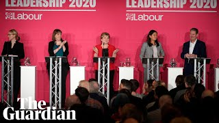 Labour party leadership: candidates speak at first hustings - watch live