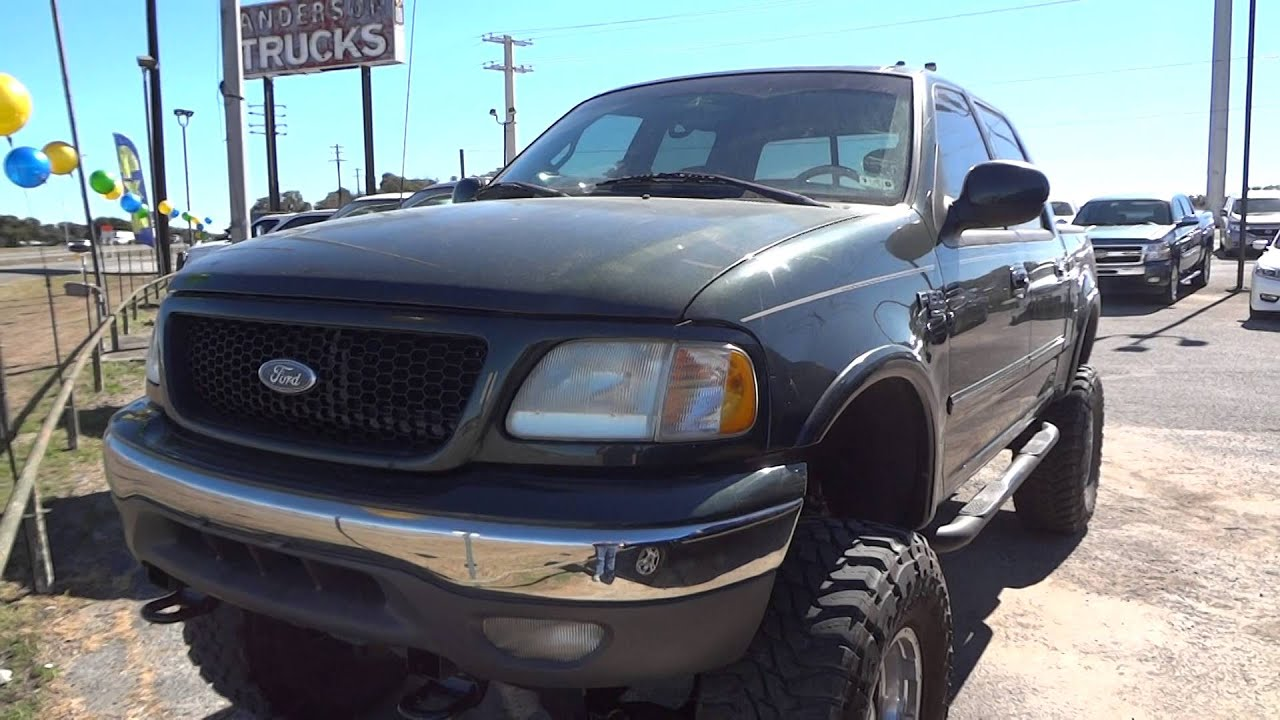 2002 ford f150 lariat supercrew lifted review youtube. Black Bedroom Furniture Sets. Home Design Ideas