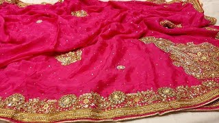 Fancy Designer Sarees With Price ||  Designers Party border work Saree designss