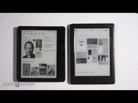 Amazon Kindle Oasis vs Kobo Glo HD