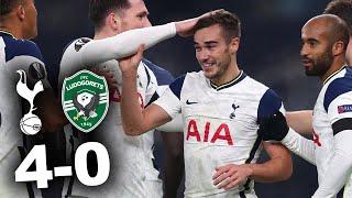 TOTTENHAM 4-0 LUDOGORETS | Europa League LIVE Reaction