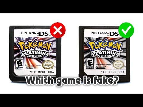 How To Spot A Fake Platinum Game!