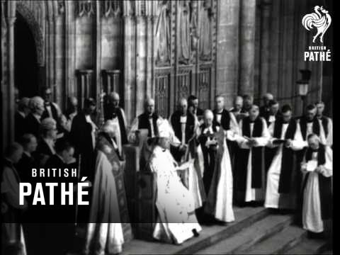 Archbishop Of Canterbury Enthroned (1942)