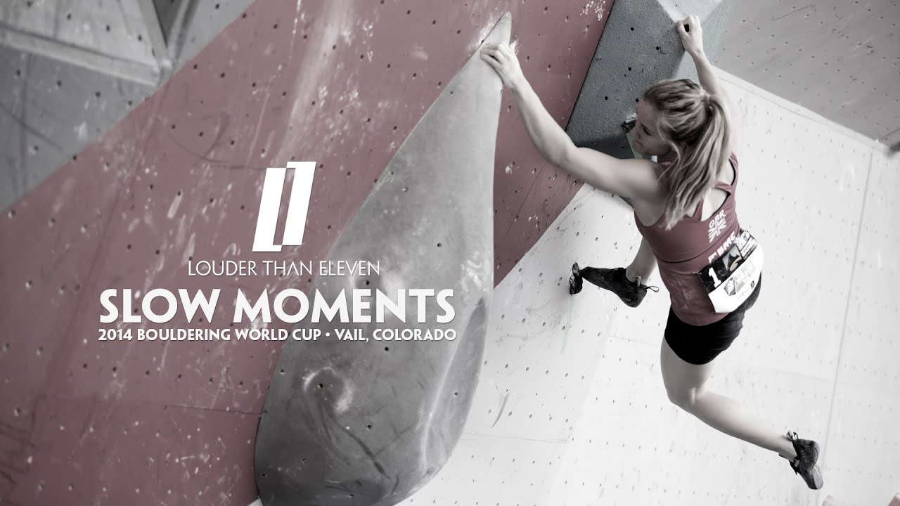 Slow Moments - Bouldering World Cup - YouTube
