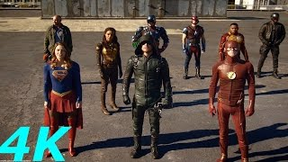 Super Heroes vs. Dominators ''Invasion'' - DC's Legends Of Tomorrow Season 2 Episode 7 HD Sheitla