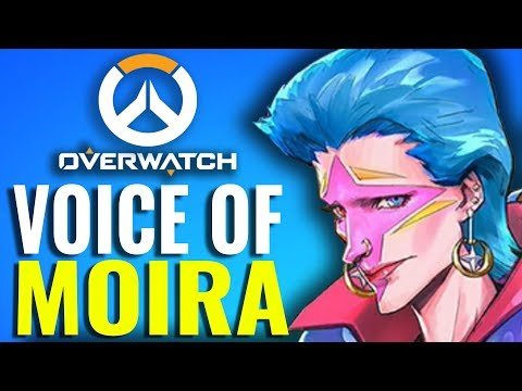 Why Moira from Overwatch sounds so familiar