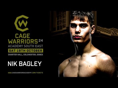 #CWSE24 Introducing Nik Bagley who speaks to @reachyourpeaktv about challenging for the belt