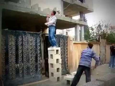 Safety at work in Homs, Syria