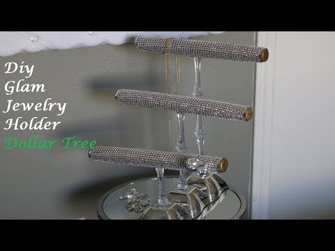 diy-glam-jewelry-holder!-dollar-tree!!