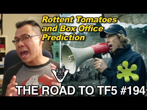 Rotten Tomatoes and Box Office Prediction for Transformers 5 - [THE ROAD TO TF5 #194]