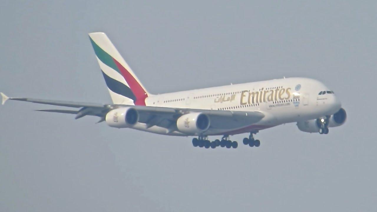 Emirates Ankunft München