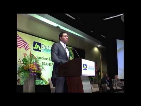Andrew Holness - ' The Jamaican Economy: A Vision For Transformation '