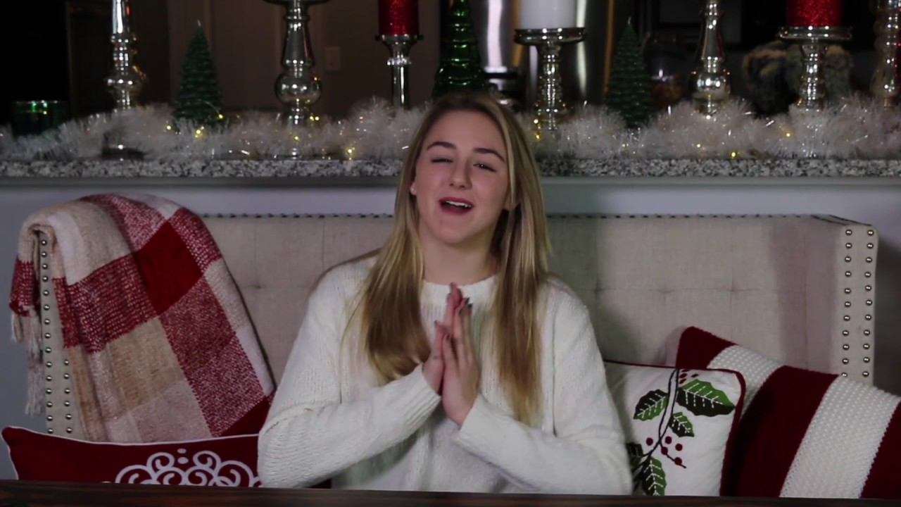 Merry Christmas Eve Message  24 Days of Chloe  Chloe Lukasiak