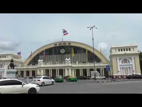 Bangkok, Train Station,  How To Book A Ticket. English Service !