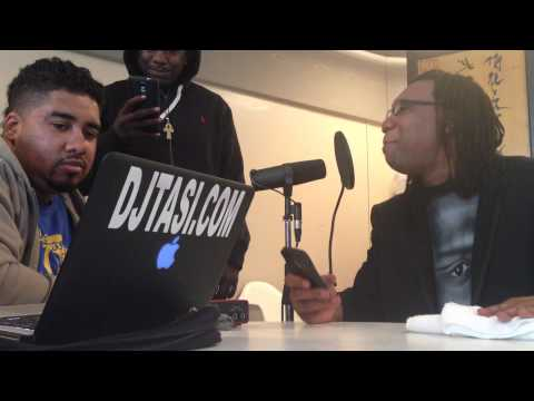 KCRH 89.9 fm and KRS-ONE freestyle fun
