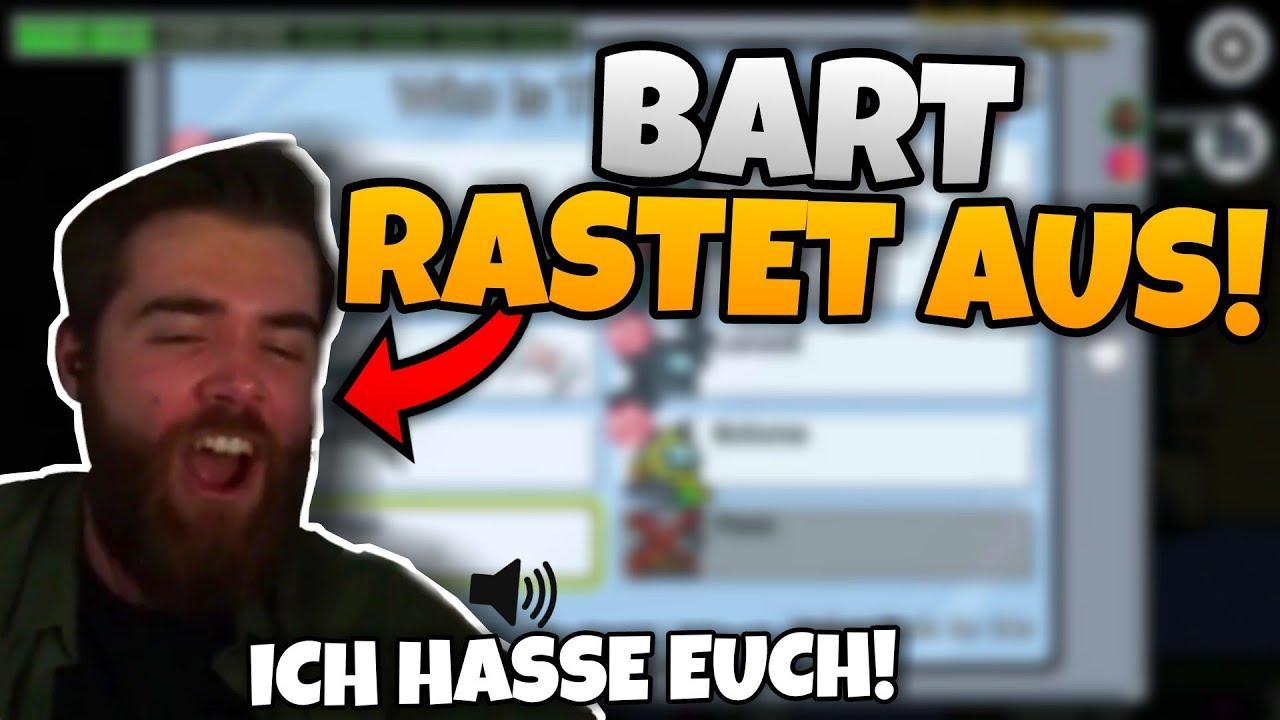 Bart RASTET KOMPLETT AUS! & Matteo SWAPT SICH aus Versehen SELBER RAUS! | Among Us Highlights