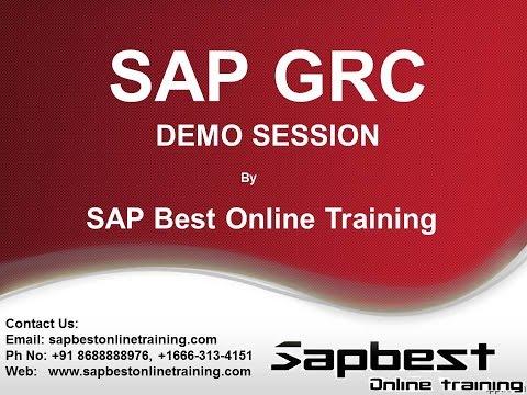 SAP GRC ONLINE TRAINING VIDEO | SAP GRC PROJECT SUPPORT Video | SAP GRC LIVE DEMO Video | GRC VIDEO