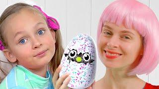 История о том, как Майя вместе с семьёй нашла яйцо динозавра