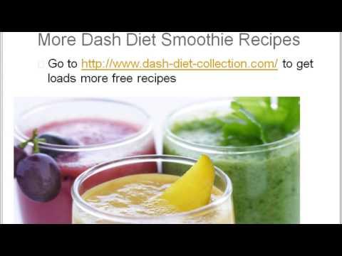 Dash Diet Smoothies Recipes