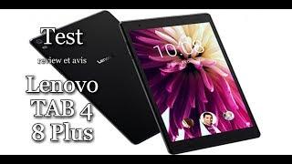 Lenovo TAB 4  8 Plus . Test, review, avis.