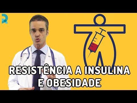 RESISTÊNCIA A INSULINA E OBESIDADE   AULA Dr. Rocha