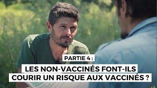 Enquête vaccination N° 4- Vaccin ROR + les non vaccinés font ils courir un risque aux vaccinés ?