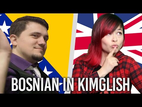 Kim Learns to Swear in Bosnian with Draz!