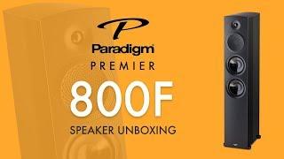 Paradigm Premier 800F Speakers Unboxing