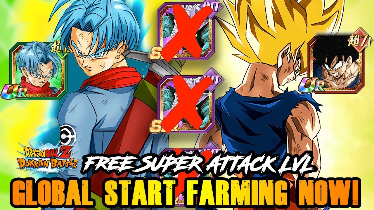 GLOBAL START FARMING! ALL NEW UPCOMING DOKKAN UNITS WITH FARMABLE SUPERS! |  DBZ DOKKAN BATTLE