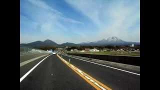 走行中動画:山陰道米子東IC付近