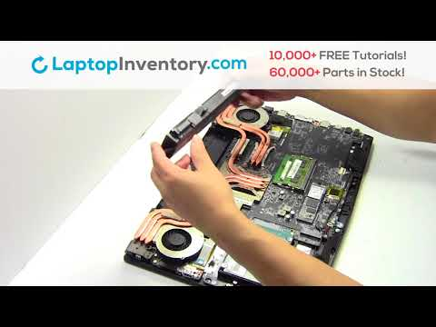 How to replace Laptop Battery MSI GP62MVR. Fix, Install, Repair GE72 GE62 GT72 GS73