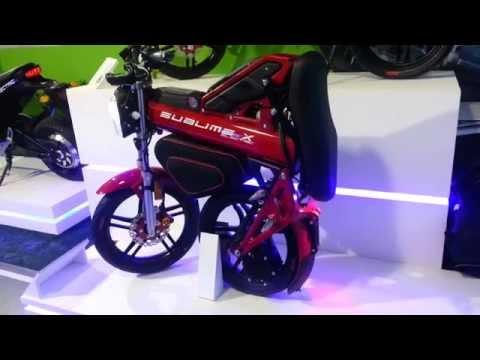 Moto Sublime X Electric Roja 2015 Lanzamiento Bogotá Colombia