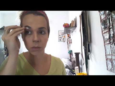 Full makeup. Time lapse. ( tentativa)